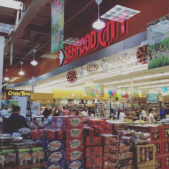 Seafood City...it's like being in Japan! Jollibee