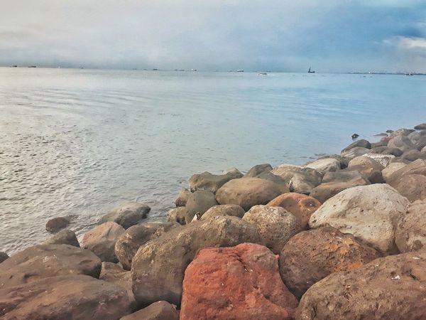 Manila Bay Beauty In Nature Shore Pebble