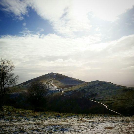 Winter Winter Landscape Snow Day Snow ❄ Malvern Hills Malverns Malvern Worcestershire Uk
