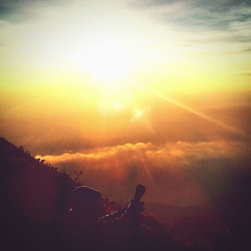 Sunrise Merbabu Visitindonesia Traveling Mountain View Latepost Boyolali Wonderful Indonesia