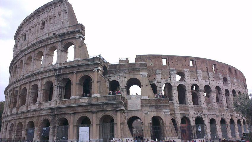 Anfiteatro maximo... ovvero il Colosseum Roma On The Road Born To Be Wild