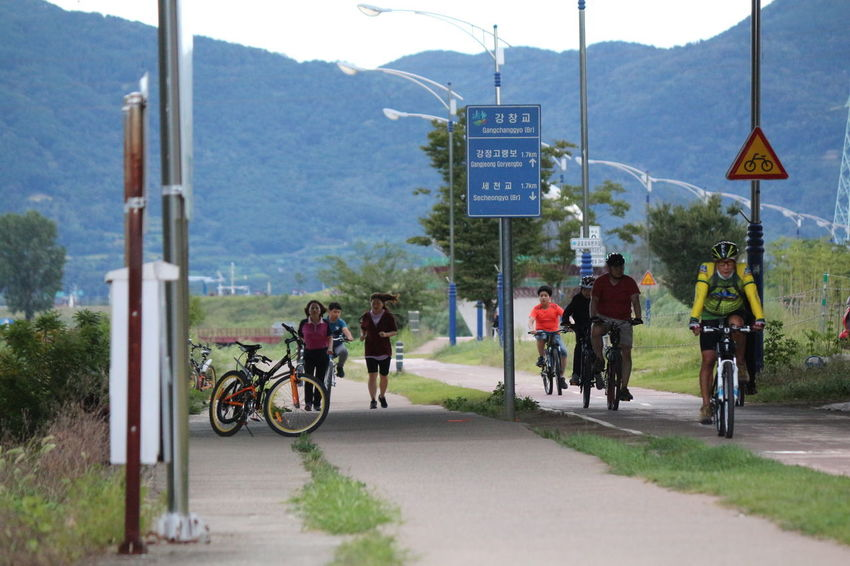 Saturday outdoor activity before the cold months begin. Daegu, Korea Bicycles Cycling Day Lake Landscape Nature Outdoor Activities Outdoors Seongsu