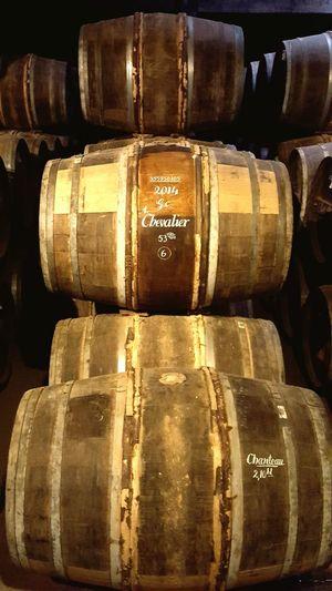 Stack Arrangement No People Indoors  Close-up Day Cognac Cognac Region Ville De Cognac Barrels Barrels Of Cognac Barrel