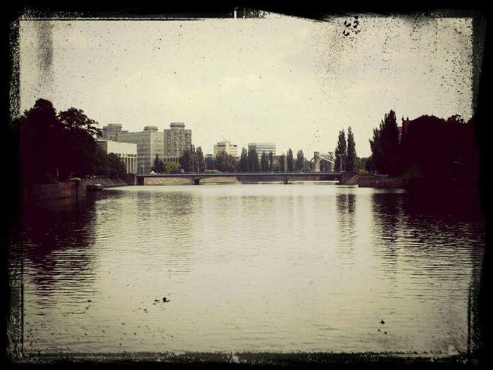 Odra River River Wroclaw, Poland Wroclaw