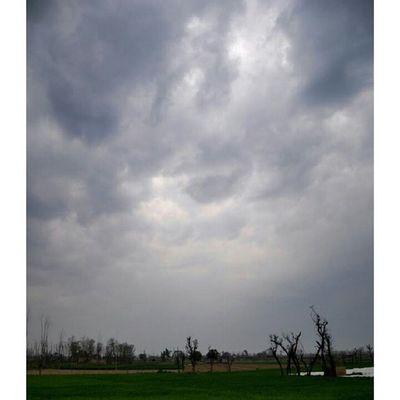 Today the city adopts the overcast look Clouds DarkFigure Darkclouds Fields Colors overcast Mardan KP KPK KhyberPakhtoonkhawa Pakistan