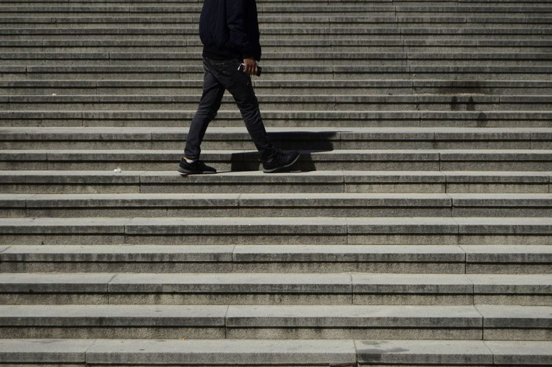 Steps Steps And Staircases City Location Urban Lifestyle Urban Scene Street Streetphotography Lifestyle Strolling Man Adult Wearing Sunlight Young Adult Street Photography Wearing Light And Shadow Shadows & Lights Low Section City Pedestrian Men Human Leg Walking Standing Pattern City Life Steps Stairs The Street Photographer - 2018 EyeEm Awards Urban Fashion Jungle #urbanana: The Urban Playground A New Perspective On Life My Best Photo The Art Of Street Photography Springtime Decadence The Street Photographer - 2019 EyeEm Awards