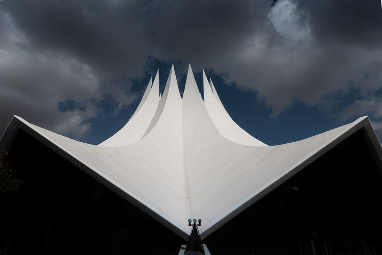 Berlin Architecture Arts Culture And Entertainment Building Exterior Built Structure City Cloud - Sky Low Angle View No People Outdoors Sky Tempodrom Berlin
