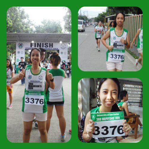 Survived the 3k run. Booyah! \m/ Warriorsrun 3rdwarriorsrun USC  Intramurals 3krun fun uscintramurals2013