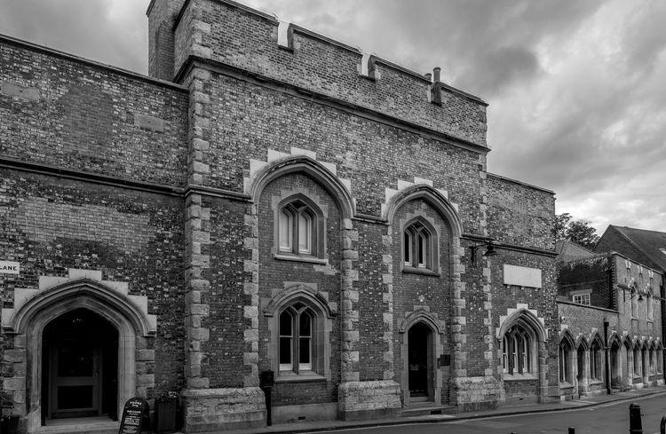 Canterbury Gaol, Pound Lane, Canterbury, Kent Gaol Jail Canterbury Kent Architecture Old Buildings FUJIFILM X-T10 Monochrome Black And White Prison