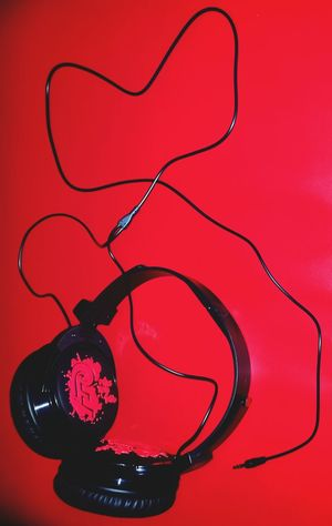 For The Love Of Music Headphones Red Getting Creative Music Is My Life EyeEm Music Lover Ramatgan have u noticed the heart?😉 TakeoverMusic