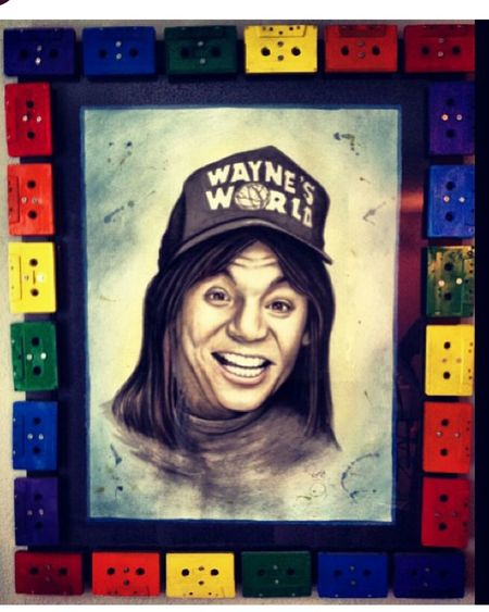Waynesworld Street Art Texas Deathwish Imperfection Color Portrait Street Portrait People Around You