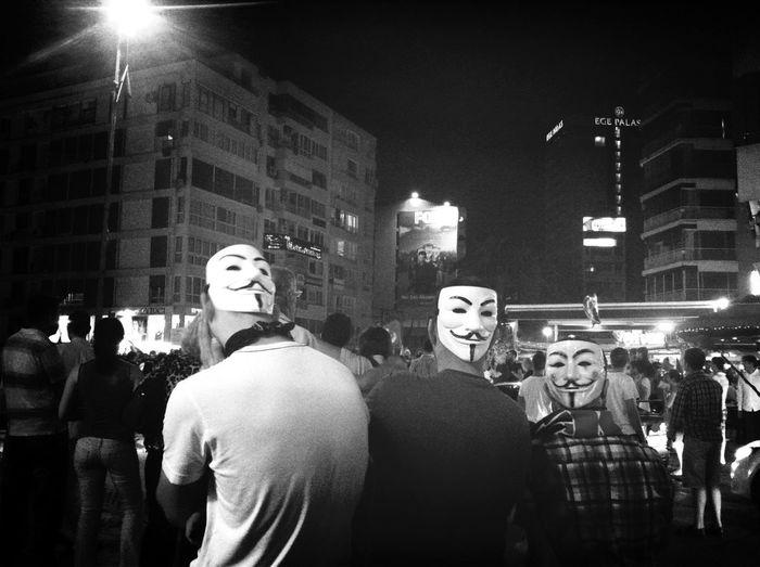 Streetphoto_bw Occupy Taksim! Direngeziparki Chapulling