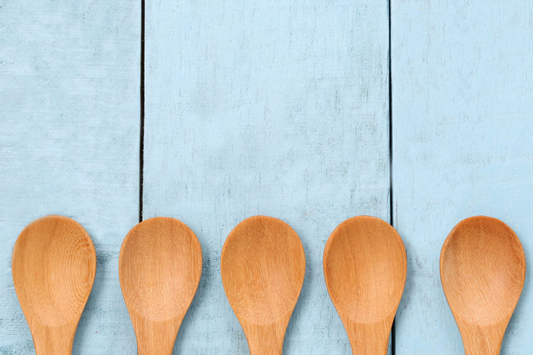 Wooden spoon on blue wood floors,concept of utensils and cooking. Cooking Cooking At Home Cooking Utensil Spoon Wooden Table Blue Wood Blue Wooden Table Concept Cooking Ingredient Cooking Time Floors Floors View Spoon And Fork Spoons Utensils Utensils Kicthen Wooden Wooden Background Wooden House Wooden Texture