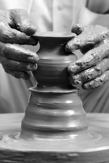 Pottery Creativity Creativity The Creative - 2018 EyeEm Awards Blackandwhite Creative Pot Pottery Streetphotography
