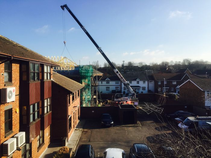 Men At Work  Construction Building