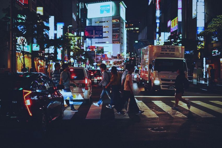 tokyo night City Street Night Vibes Tokyo