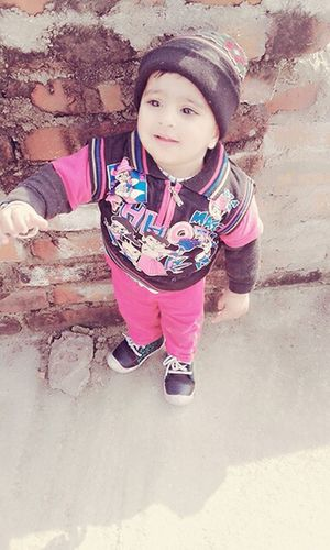My cuto 😙😘😚 Niece 💕 farmaan mughni First Eyeem Photo