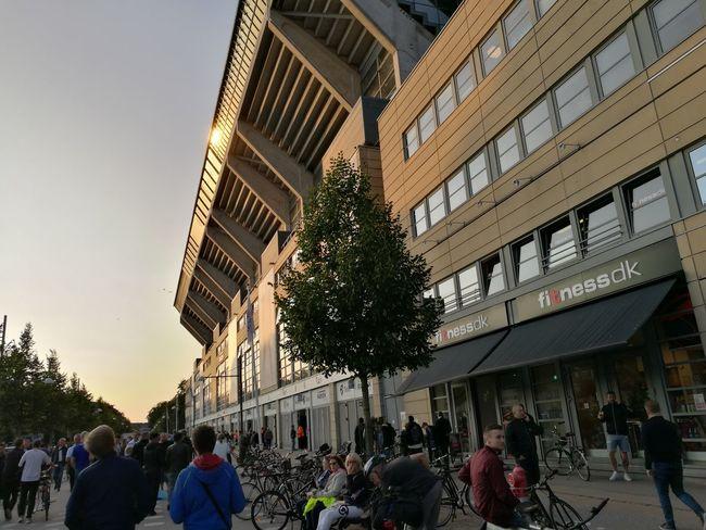 Architecture Built Structure Building Exterior People Stadium Soccer⚽ UCL Uefachampionsleague