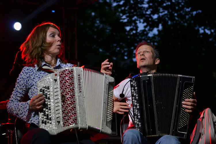 Fedor Chistyakov & Accordion Rock Orchestrion, Saint Petersburg, Russia Accordion Accordion Rock Orchestrion Adult Adults Only Arts Culture And Entertainment Black Background Day Fedor Chistyakov Mid Adult Women Music Musical Instrument Musician Outdoors People Performance Playing Real People Russia Saint Petersburg Tree The Portraitist - 2017 EyeEm Awards The Photojournalist - 2017 EyeEm Awards EyeEm Selects