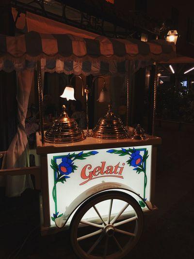 Text Communication No People Night Indoors  Illuminated Food Gelati Icecream Holidays Cute Colorful Lights