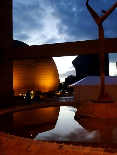 Night At The Museum Phtography Water Reflections Taking Photos Tijuana Light And Shadow
