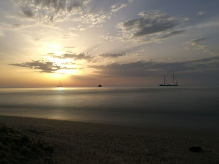 Cefalú, Sicilia, Mare, Paesaggio Sea Sunset Outdoors Beach Sky Nature Day Tramonto Relax Sea Sunset Nautical Vessel Horizon Over Water Outdoors Scenics Landscape Beach Sailing Ship Water Cloud - Sky Beauty In Nature No People Sailboat Sky First Eyeem Photo