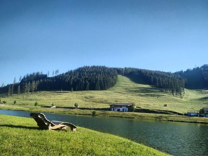 Lake vacation