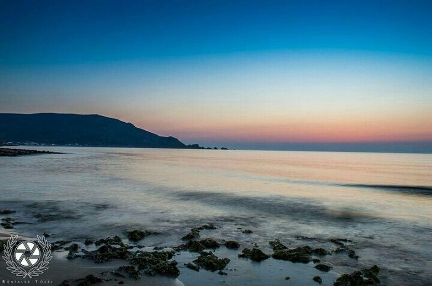 Summer2015 Sunrise Sea Sky Hawareya Tunis Haouaria Outdoor Photography Nikonphotography Eyem Best Shots Photography