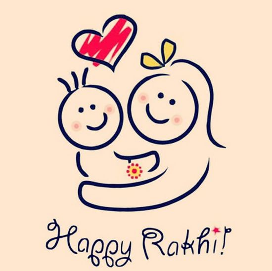 Happy_rakshabandhan Sister_brother_love Festivefever It is a nice feeling to get tied by yr sister ... Rakhi Instafever Instadaily Instafun Indian_tradition Mithai 😋