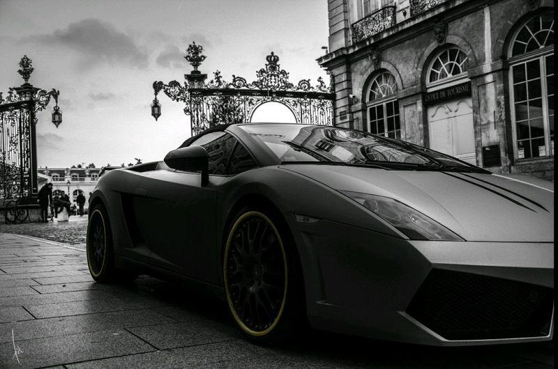 Car Lamborghini Monochrome Like A Boss
