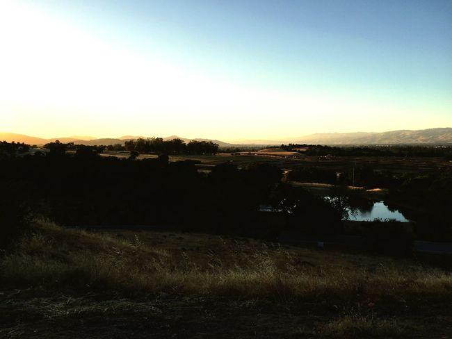 Sunset in Gilroy Gilroy First Eyeem Photo