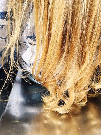 EyeEm Selects Hair Curls Boys With Long Hair Blonde Hair Reflection Fresh Fresh On Eyeem  No Faces This Is Strength