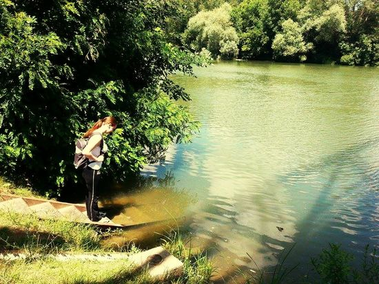 That's Me Summertime River Kőrös Riverside Water Beautiful Myhometown Adorable Happiness♥