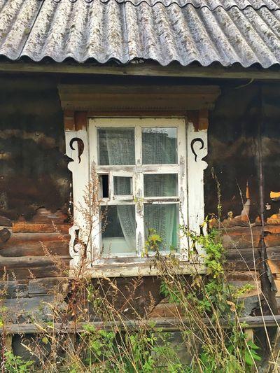 Window Old Buildings Hut Baltics2k16