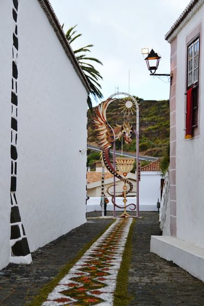 Dragon Outdoors No People Architecture Sky Day Vacations Travel Town Tourism Summer La Palma Canary Islands