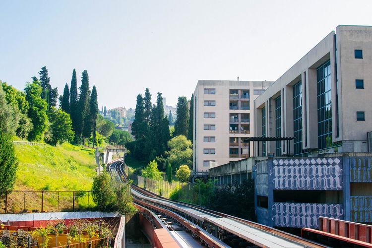 Architecture Transportation Mode Of Transportation Rail Transportation Train Track Minimetroperugia Minimetro Italy Perugia