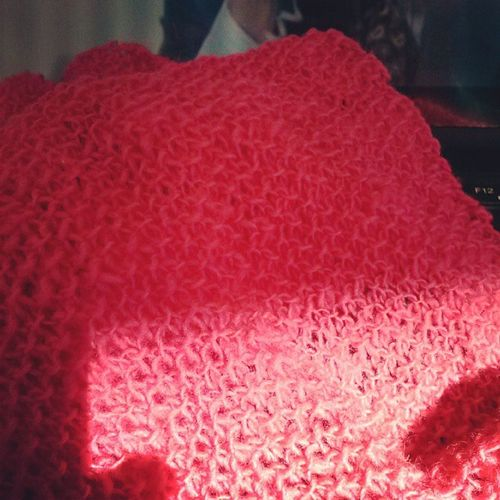 Miles of Mossstitch . Knitting