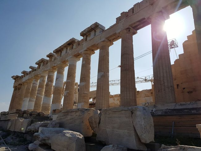 Athens, Greece Grece ❤ Greek's Architetures Outdoors Atene Ancient Acropolis, Athens City Business Finance And Industry
