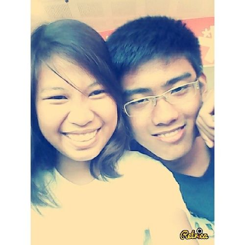 Don't mind our face hahaha miss this guy :) I miss you baby see you so soon here at NAIA HEREATNAIA NAIA MISSMYBOYFRIEND Boyfriend BEST