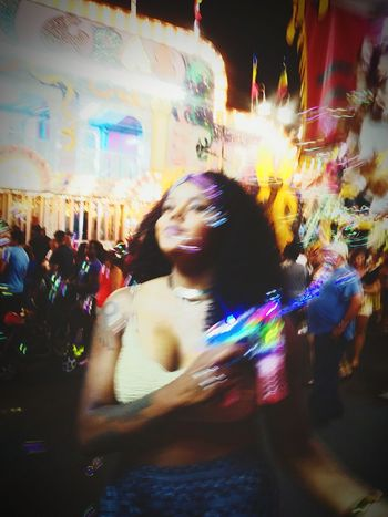 Life is a blur, so enjoy every moment. Fair Festivities Bubble Gun Happiness♥ Mylittlesister💕👭❤️ Beauty Kidatheart Freespirit Peaceful