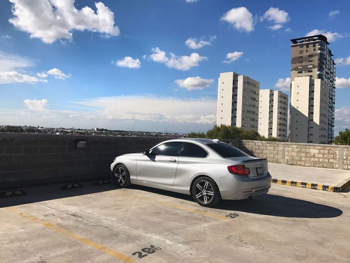 Car Building Exterior Architecture Land Vehicle Bmw F22 Puebla Outdoors Sky City
