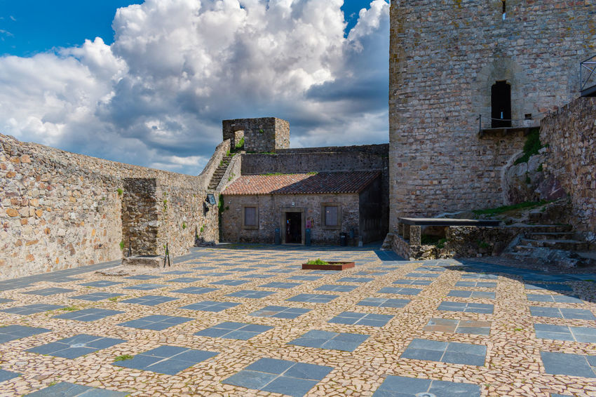 Castelo de Marvão Castle Castles Cloud Sky And Clouds Castle Ruin Castle View  Castle Walls Cloud - Sky Clouds And Sky