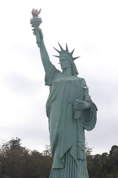 Replica Statue of Liberty Brazil Brusque Monument Santa Catarina Santa Catarina Brazil Santa Catarina, Brazil Statue Statue Of Liberty