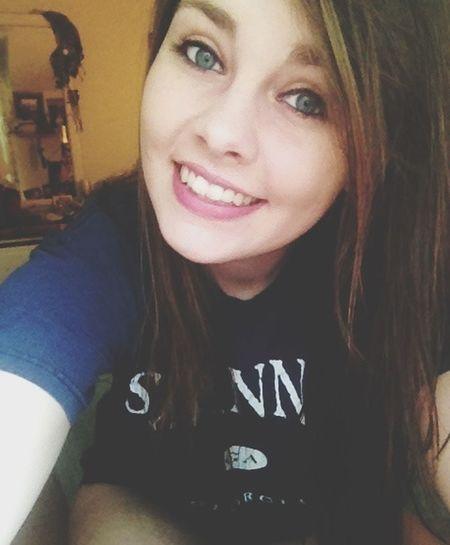 ThatsMe #JustMe Long Hair, Don't Care. Blue Eyes