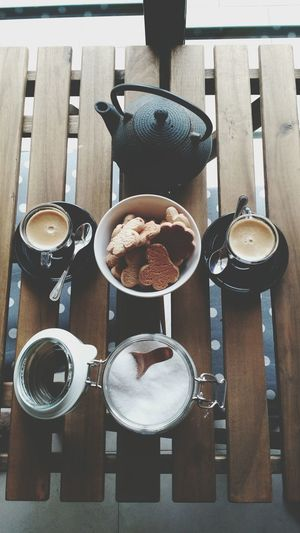 Spoon Food And Drink High Angle View Food Wood - Material Indoors  Table Breakfast No People Freshness Day Coffee Coffee Time Coffee - Drink