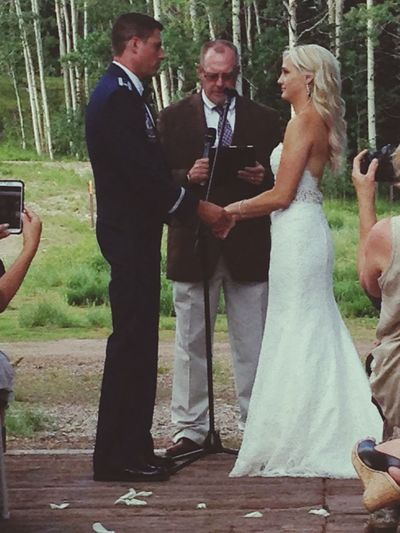 Most wedding wedding ever. She looks gorgeous. Parkcity Canyons Resort Pineview
