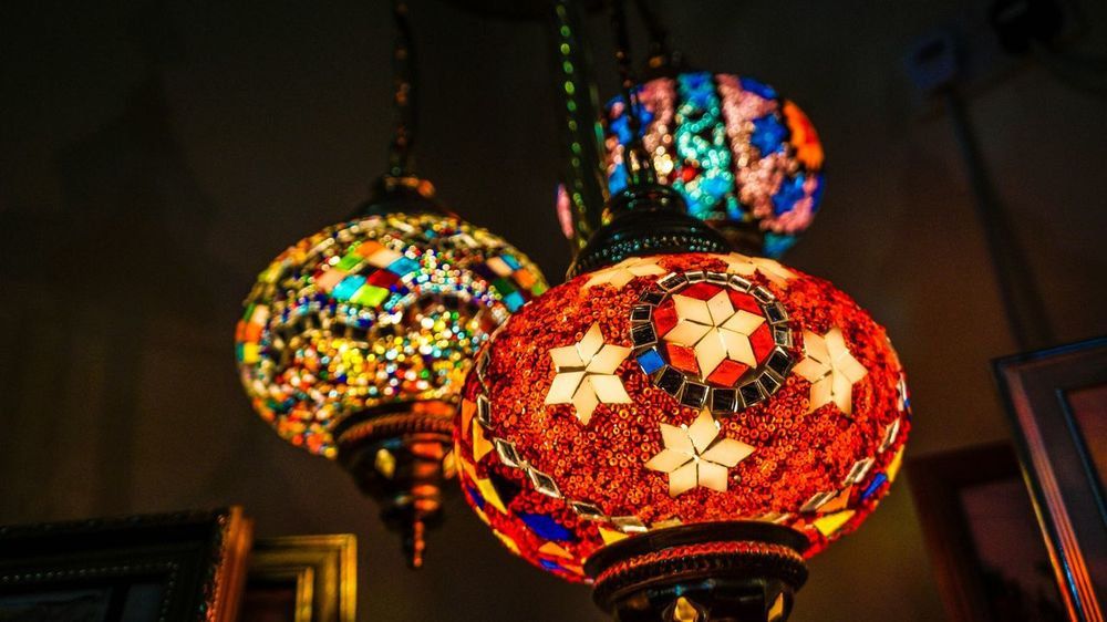 Visiting a friend house and stumble upon these lovely, awesome turkish lamps Taking Photos Turkish Lamp Beautiful Design