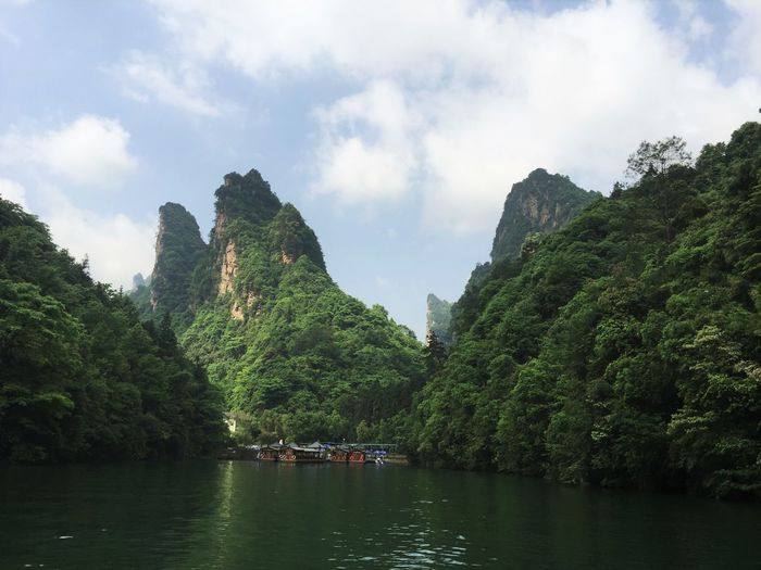 Beauty In Nature China Photos Green Color Nature Sky Travel Destinations Water