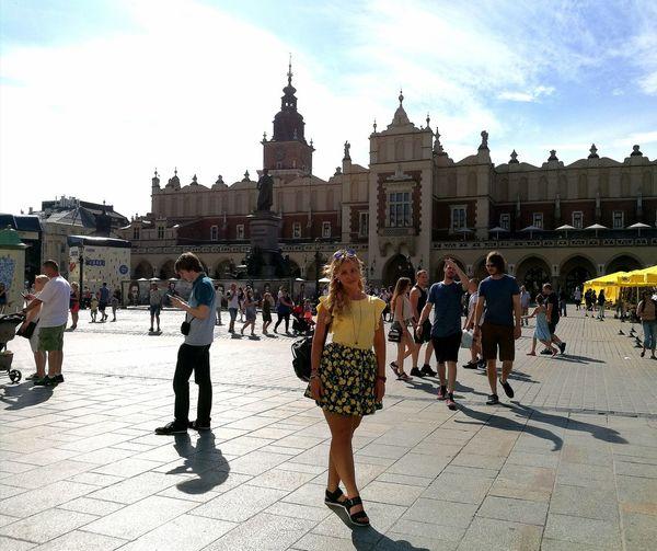 Vacations Travel Destinations City Outdoors Cracovia  Kraków, Poland Krakow Yellow Lemon Lemongirl Paint The Town Yellow
