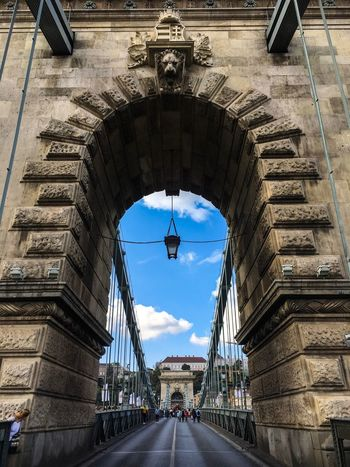Budapest Budapest, Hungary Architecture Built Structure Building Exterior Arch Sky City Outdoors Day No People Statue Triumphal Arch